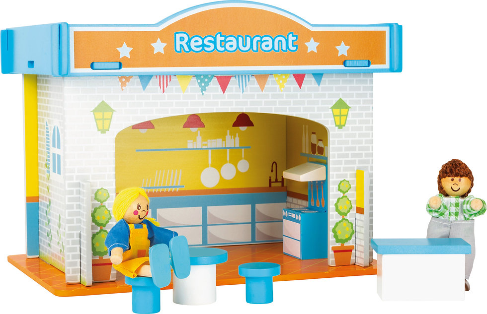 Playhouse Restaurant with Accessories Κωδ.L10852
