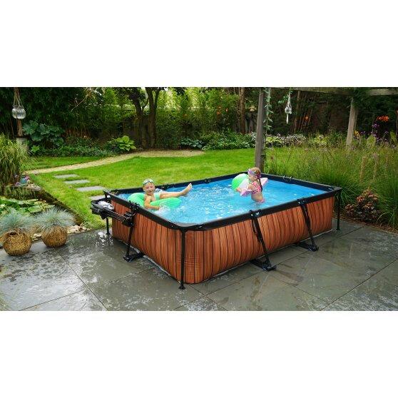 Πισίνα   ξύλινη εμφάνιση  μήκος  325εκ.  κωδ.EX30003210