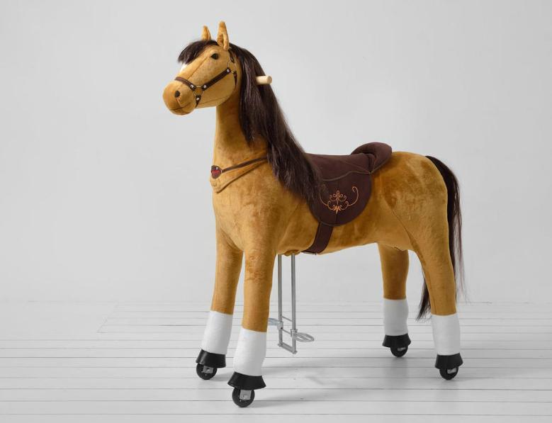 Delyxe Άλογο Pro Ιππασίας XL  9-99 ετών Ύψος133 εκ. κωδ.HP5031