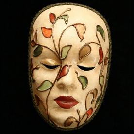 Βενετσιάνικη Μάσκα λουλούδι