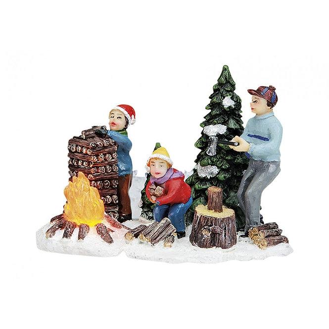 Χριστουγεννιάτικο σκηνικό κωδ.Z6031