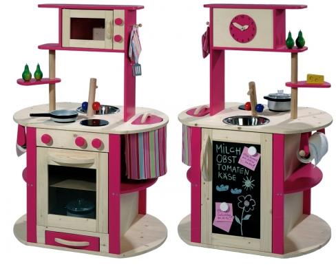 Κουζίνα ξύλινη διπλής όψεως κωδ.4811, παιδικες κουζινες,παιχνίδια,κουζίνα