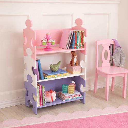 Puzzle Bookshelf - Pastel Κωδ.14415