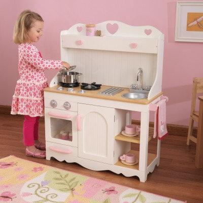"""Κουζίνα kidkraft """"Prairie Kitchen"""" Κωδ.53151"""