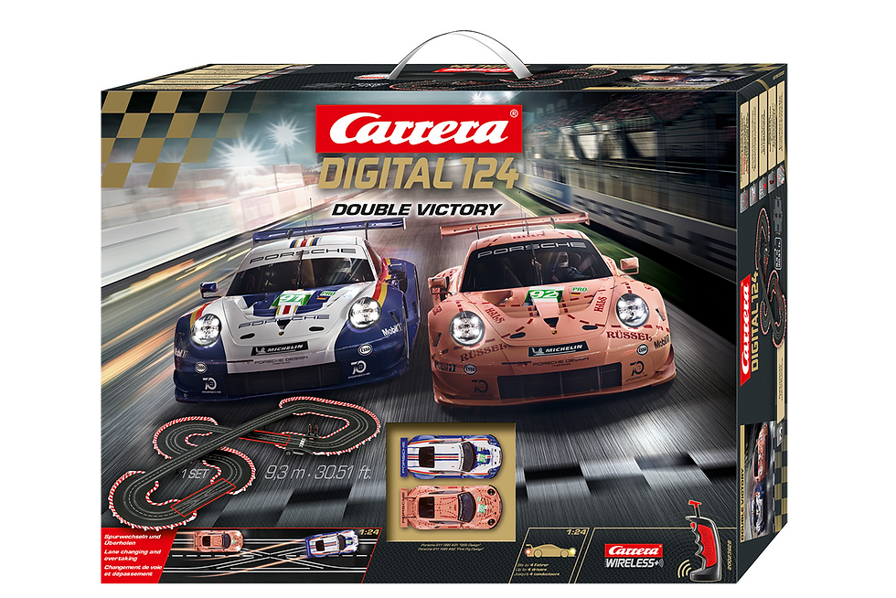 New Carrera DIG 124 Double Victory -1:24 κωδ.C20023628