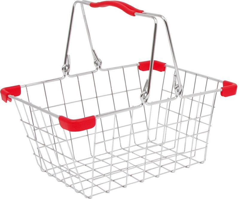 Ψώνια μεταλλικό καλάθι αγορών 1τεμ. κωδ.L8269