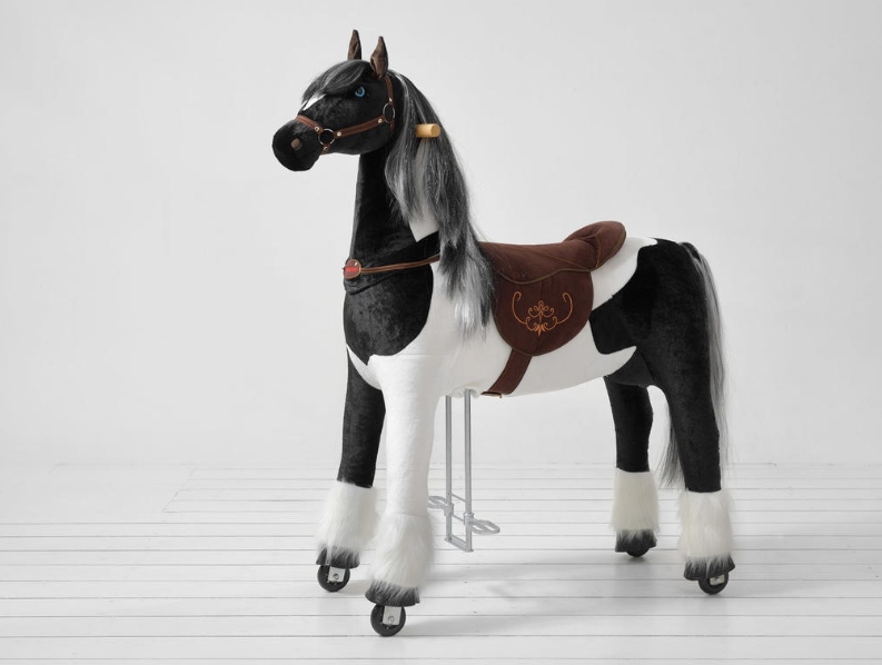 Εξαιρετικά  Μεγάλο Αλογάκι XL Ponnie ιππασίας 9-99 ετών Ύψος133 εκ.  κωδ.HL5053