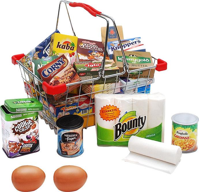 Καλάθι αγορών με είδη Σούπερ Μάρκετ τρόφιμα  κωδ..L9559