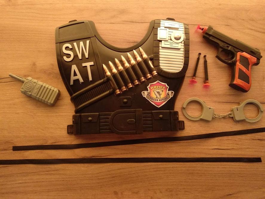 Σέτ πανοπλία  αστυνομικού κωδ.S1033