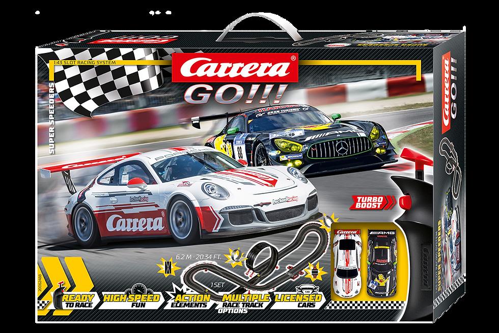 Carrera GO Super Speeders -1:43 Κωδ.C20062488