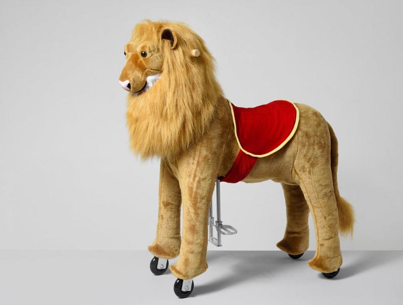 Πανέμορφο  Λιοντάρι ιππασίας 5-12 ετών Ύψος 104εκ. κωδ.HΜ4044