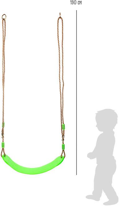 Ευέλικτη παιδική πλαστική κούνια  Κωδ.:L11585