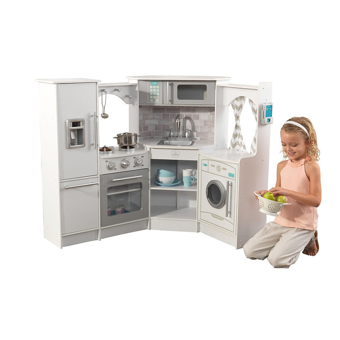 Ultimate Corner Play Kitchen - White Κωδ.53386,παιδικες κουζινες,παιχνίδια
