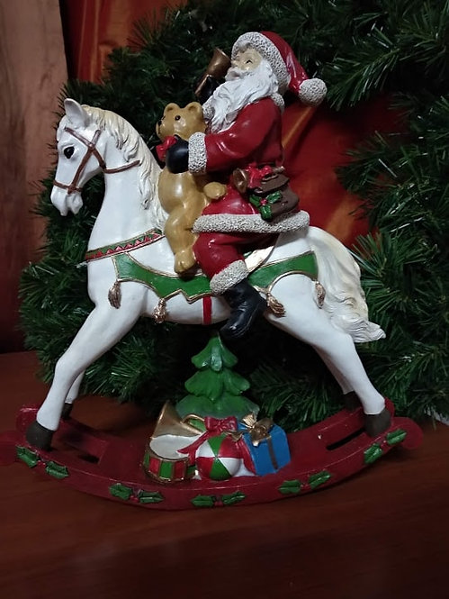 Χριστουγεννιάτικο επιτραπέζιο διακοσμητικό Άγ.Βασίλης κωδ:L643