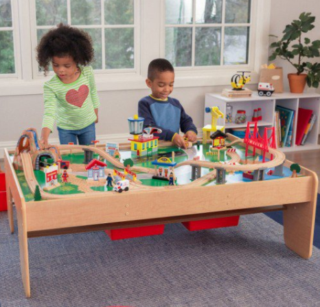 kidkraft Waterfall Mountain Train Table Set Κωδ.17850