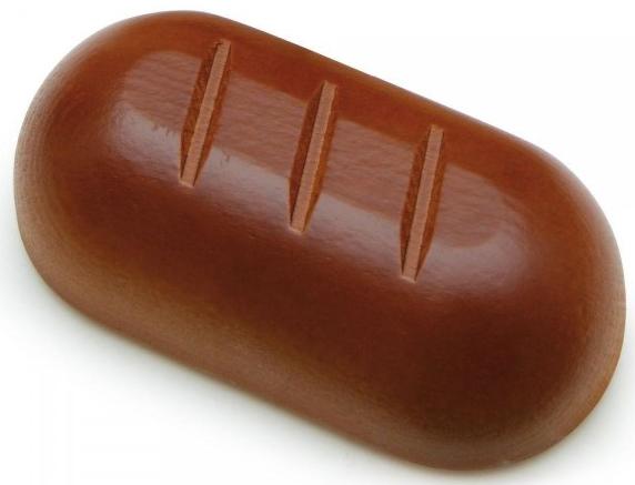 Ξύλινο ψωμί φόρμα κωδ.13180