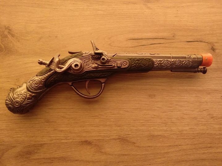 Πιστόλι μεταλλικό εποχής 1821 κωδ.S1024