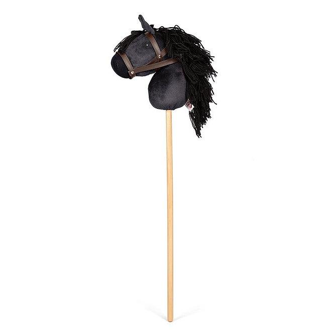 Άλογο κοντάρι μαύρο κωδ: Τ0184221