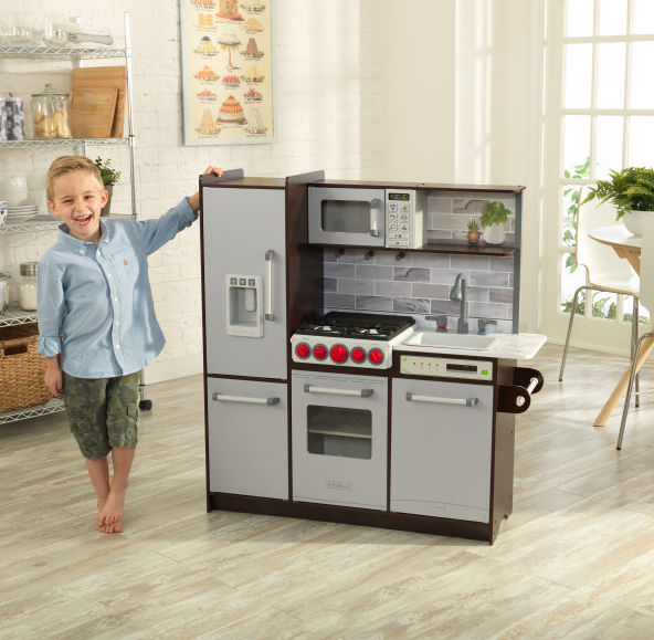 Uptown Espresso Play με την EZ Kraft Assembly ™ Κωδ.53426, παιδικες κουζινες,παιχνίδια,κουζίνα kidkraft