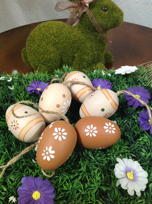 Κρεμαστό διακοσμητικό αυγό μεσαίο κωδ.PS172