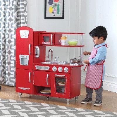 """Κουζίνα kidkraft """"Red Vintage"""" Κωδ.53173"""