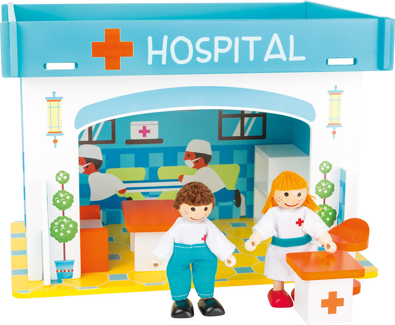 Playhouse Hospital with Accessories  Κωδ.L10857