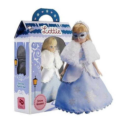 Κούκλα Βινύλιου'Βασίλισσα του Χιονιού' 18εκ. Κωδ: 213014