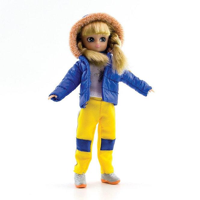 Κούκλα Βινύλιου' Εκδρόμη στα Χιόνια' 18εκ. Κωδ: 213281