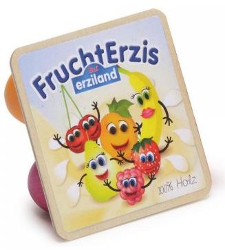 Ξύλινα γιαουρτάκια φρούτων  κωδ.17112