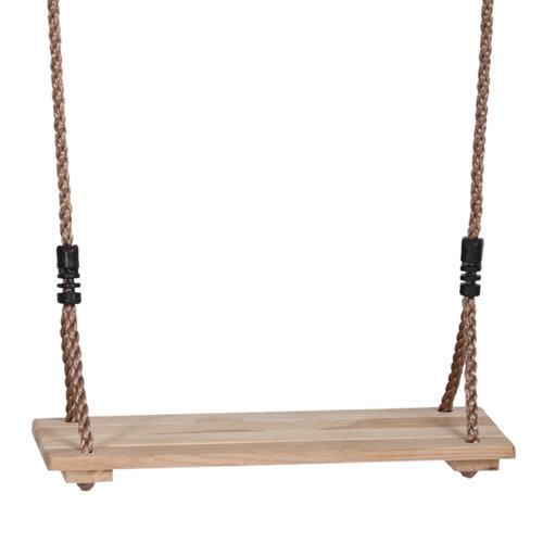 Ξύλινη Κούνια  μασίφ με αιώρηση ασφαλείας Κωδ:T45057