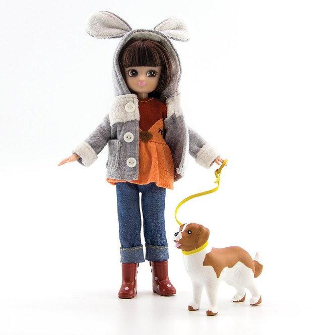 Κούκλα Βινύλιου'Βόλτα στο Πάρκο 18εκ. Κωδ: 213241