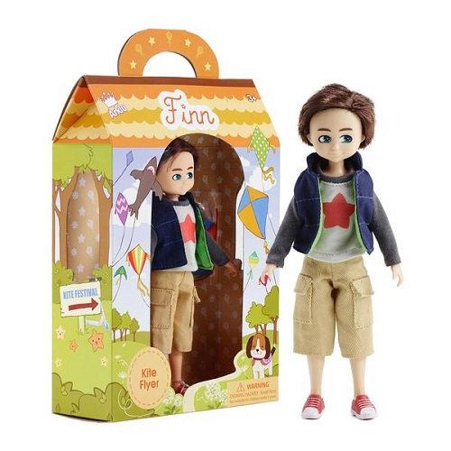 Κούκλα Βινύλιου'O Finn πετάει χαρταετό' 18εκ. Κωδ: 213130