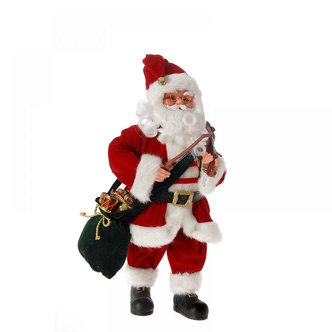 Άγιος Βασίλης με  βιολί μουσικήκίνηση 43εκατ.  κωδ.Μ901