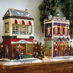 DELUXE two ANIMATED VILLAGE TOY STORES κωδ.775738