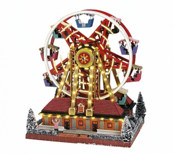 Χριστουγεννιάτικο Λούνα Παρκ -Carousel  κωδ.Z2018