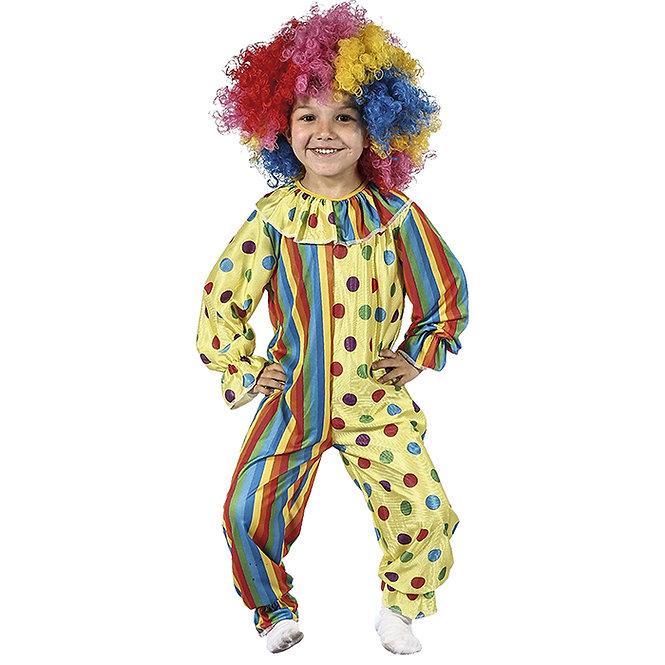 """Παιδική στολή """"Μπεμπέ Κλόουν"""" 1-2, 3-4 ετών κωδ:T32007"""