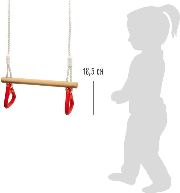 Ενόργανης δαχτυλίδια Κούνια γυμναστικής ως 70 κιλά Κωδ.:L6120