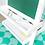"""Thumbnail: kidkraft Ξύλινο καβαλέτο """"Deluxe White"""" Κωδ.62040"""