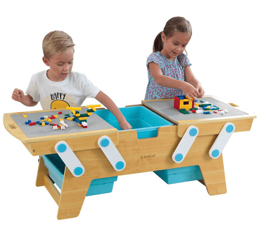 Building Bricks Play N Store Table κωδ.17512