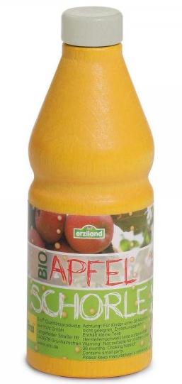 Ξύλινος χυμός μήλο με ανθρακικό κωδ.18027