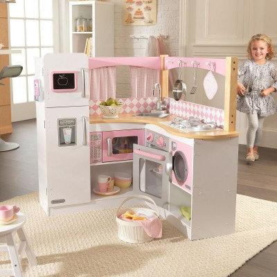 """Κουζίνα kidkraft """"Grand Gourmet Corner"""" Κωδ.53185"""