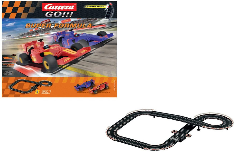 CARRERA SLOT 143 GO!!! SUPER FORMULA κωδ:C62413