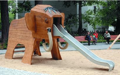 Ελέφαντας τσουλήθρα  Κωδ.Η8904