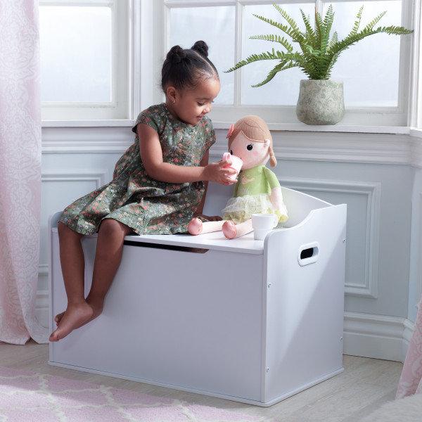 Austin Toy Box - White Κωδ.14951