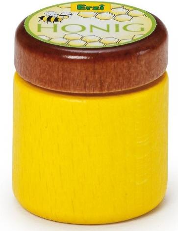 Ξύλινο βαζάκι μέλι κωδ.19070