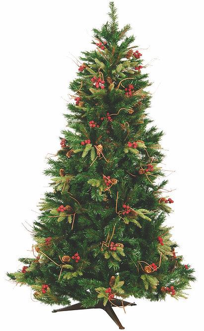 Χριστουγεννιάτικο Δέντρο PVC  2,10μ κωδ.7000221