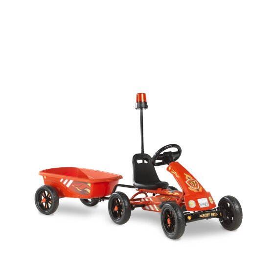 EXIT Foxy Fire go-kart  κόκκινο με τρέιλερ 2-5 χρ. κωδ.EX1023208
