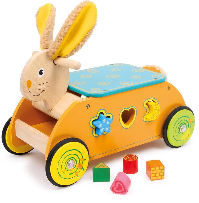 Πολυμορφκή κατασκευή Rabbit Ride-on  Κωδ.L1573