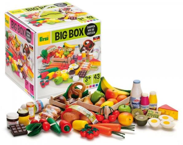 Κουτί ξύλινων τροφίμων