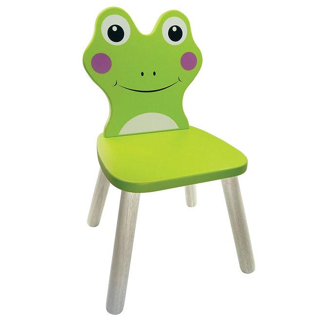 Καρέκλα βάτραχος μασίφ ξύλο  Κωδ:Τ5103210